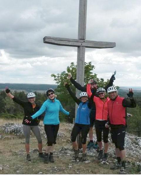 Mountainbiking: Auf Zum Gipfelkreuz