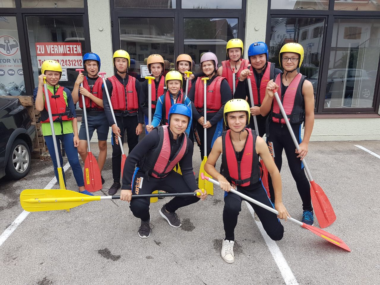 Racing Team: Sommerwochenende & Rafting In Bad Tölz