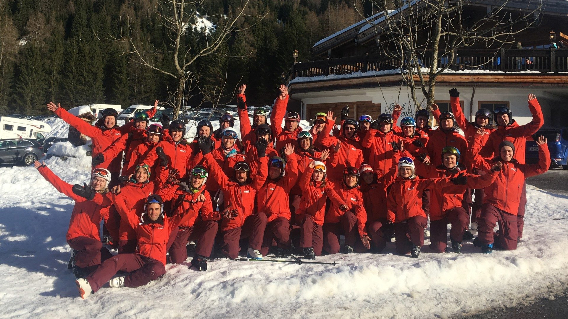 Skikurs 2018 – 1. Kurstag