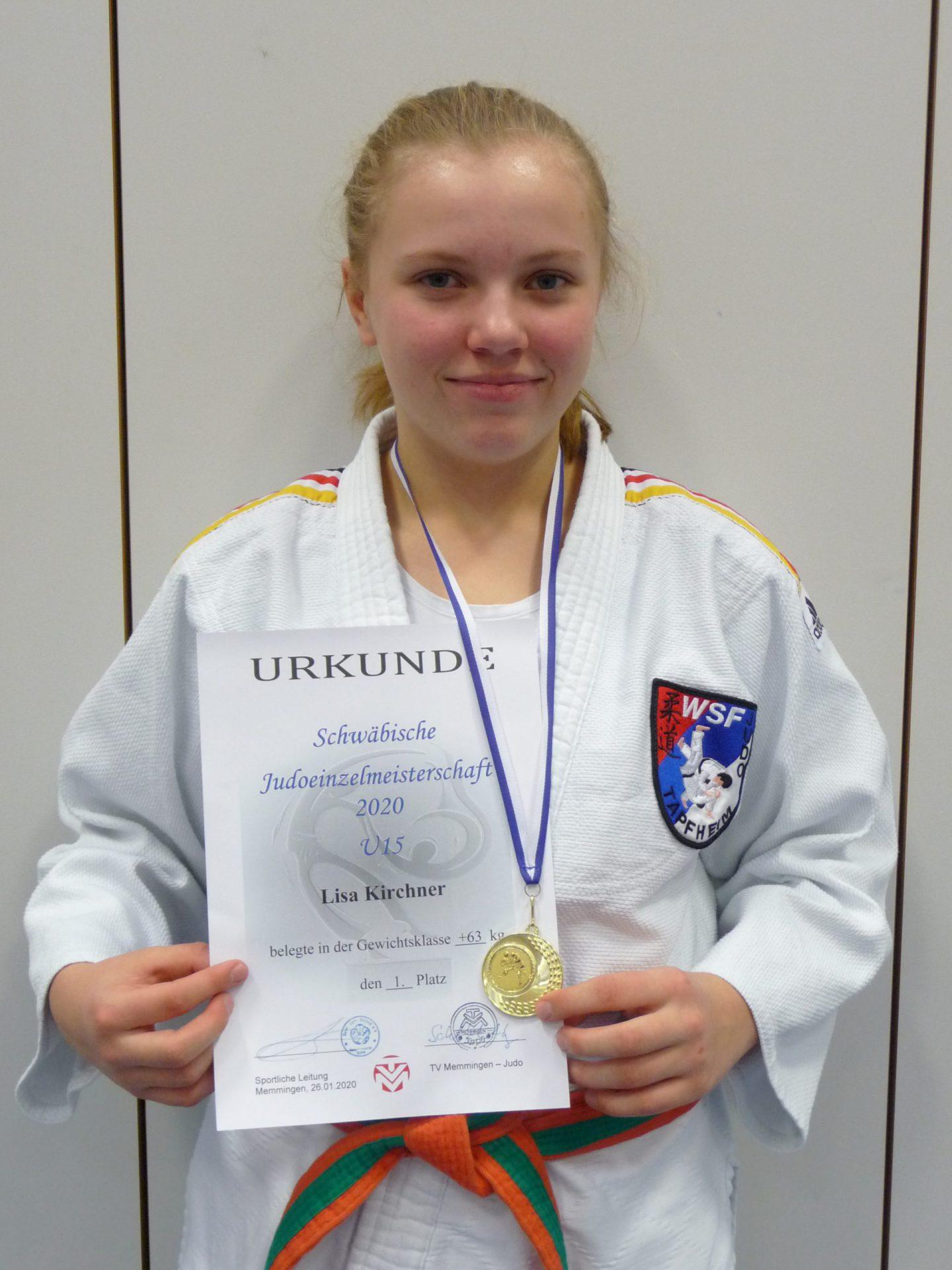 Judo: Schwäbische Meisterin U15