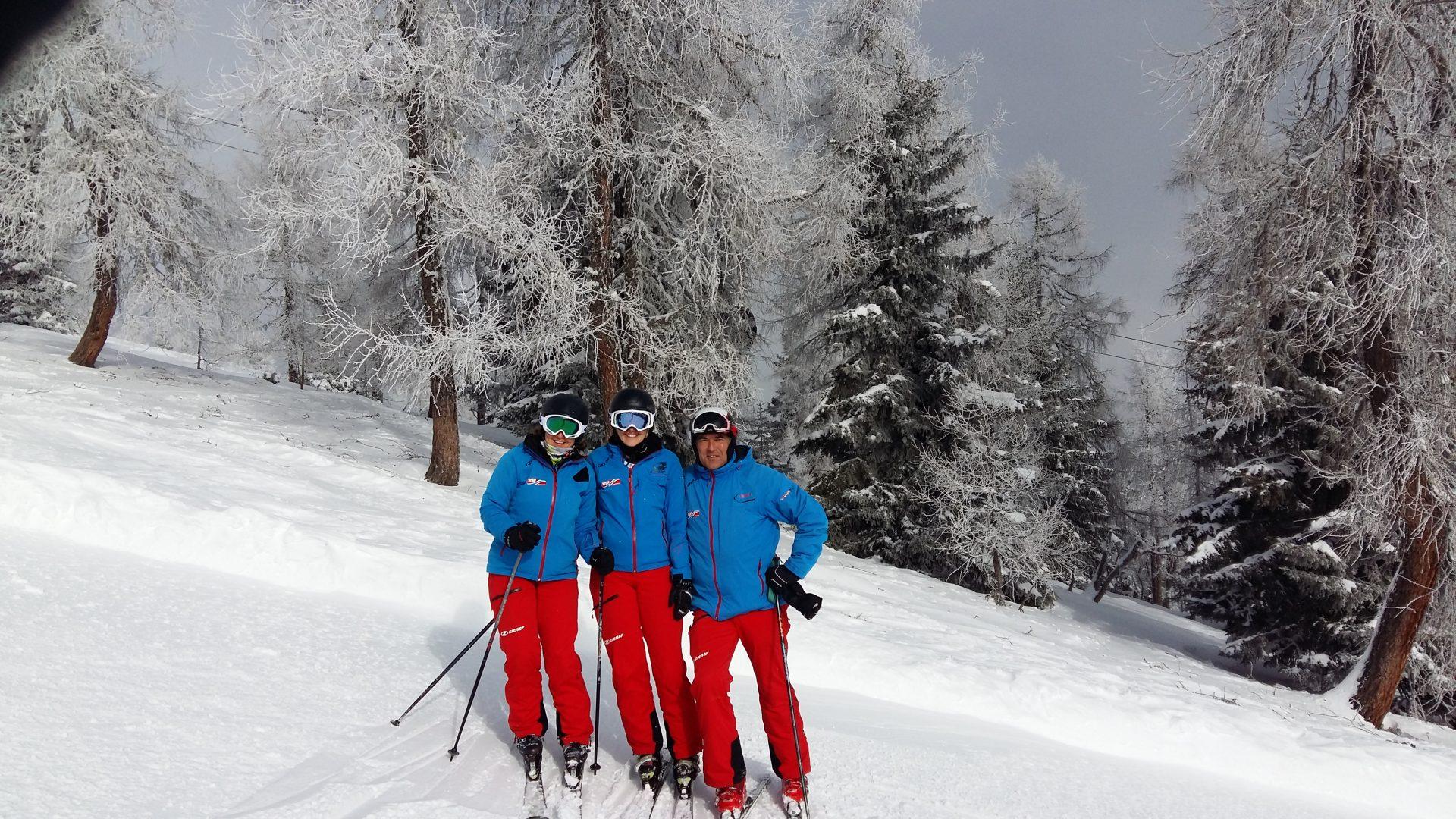 Aktuelle Schneelage – Treffpunkt Skikurs