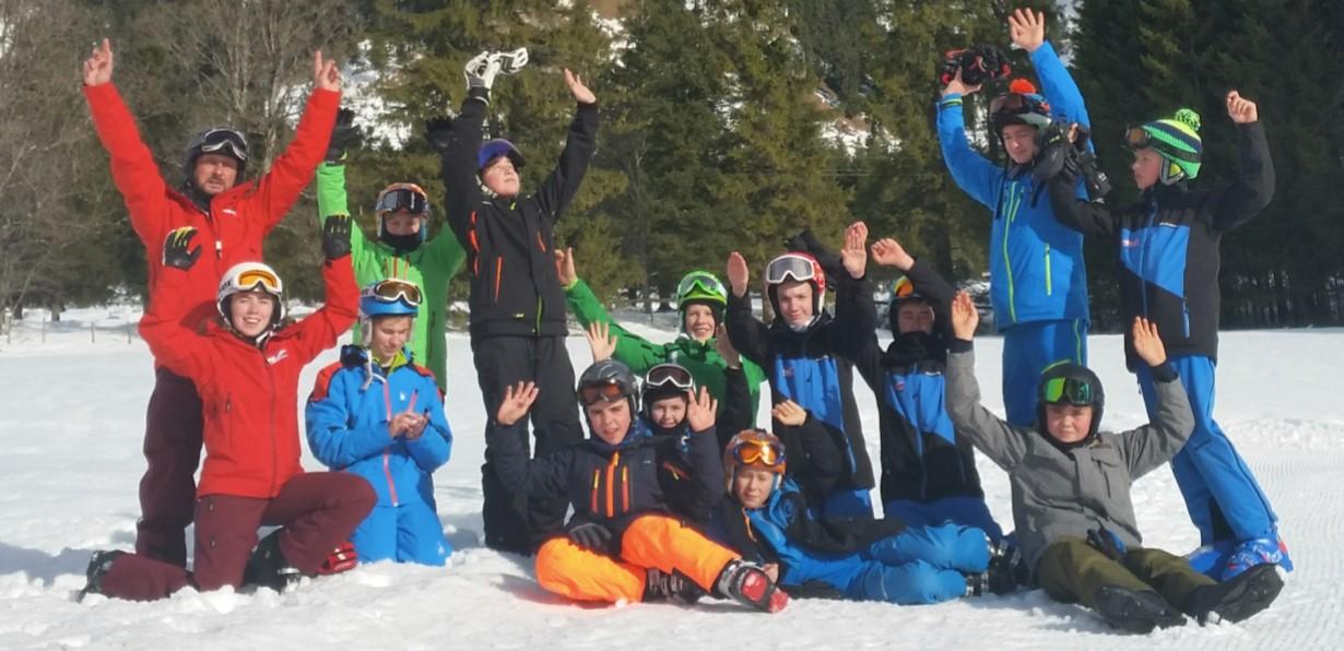 4 Tolle Tage Im Snowcamp 2017 Auf Der  Krinnenalpe In Nesselwängle