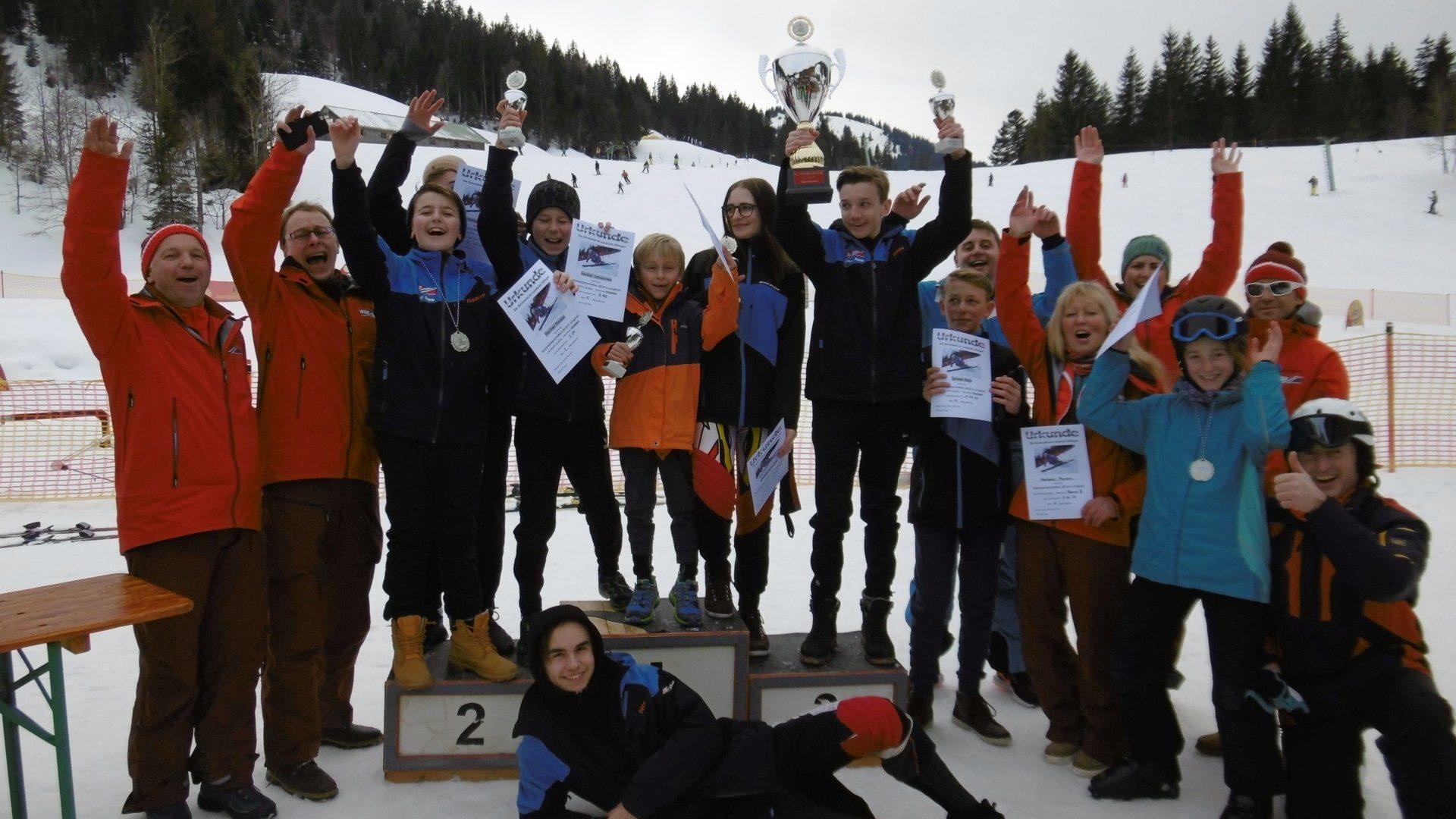 Landkreismeisterschaft 2018 – Wanderpokal Und 5 Kreismeister